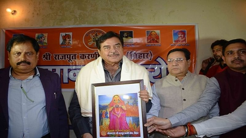 Padmavati row: Karni Sena honours Shatrughan Sinha for his stand on Padmavati and Sanjay Leela Bhansali