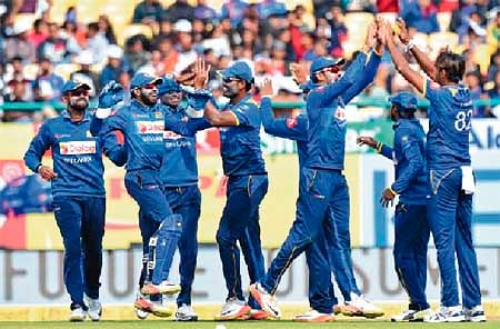 Sri Lanka draws first blood