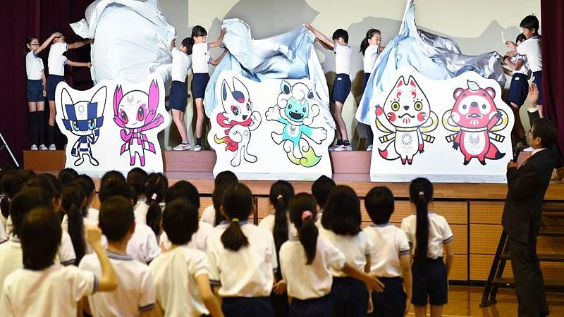 Olympics 2020: Tokyo unveil 3 mascots design for children's vote