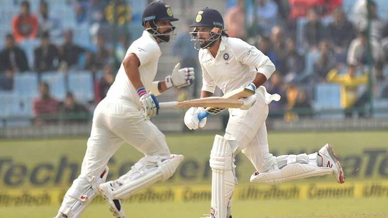 India vs Sri Lanka 3rd Test: Host 371/4 at stumps on day 1