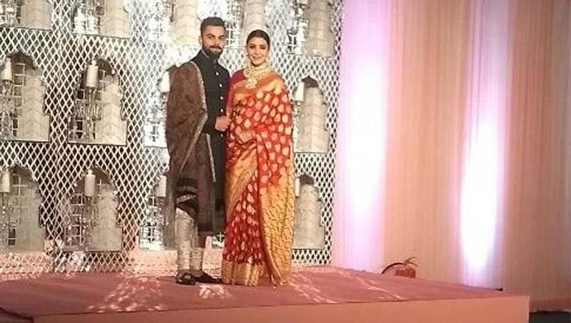 Virat Kohli and Anushka Sharma's lavish wedding reception in Delhi, see photos