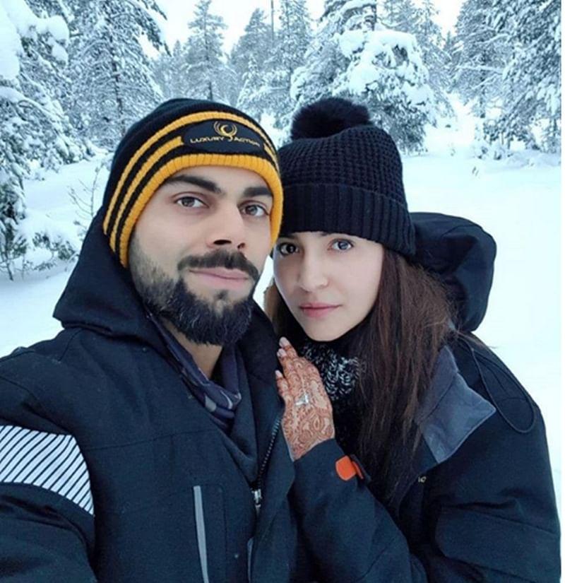Virushka's Honeymoon Picture: Virat and Anushka are literally in 'HEAVEN'