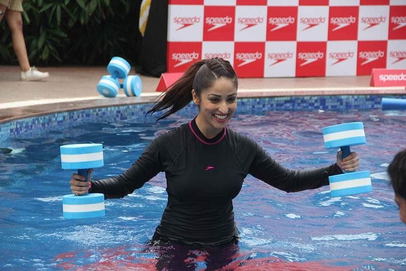 Health Tips! How to workout in the swimming pool