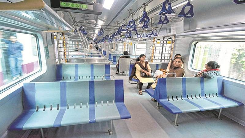 Mumbai commuters prefer less-crowded AC local