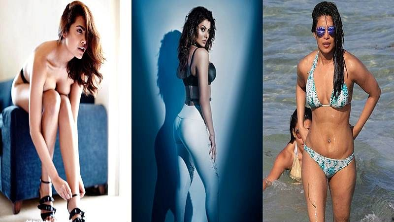 Hot and Sexy! Bollywood actress and their sizzling topless and bikini pictures of 2017