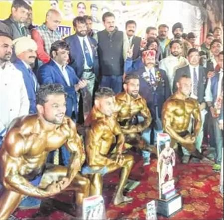 Ujjain: City youths win prizes in divisional body building championship