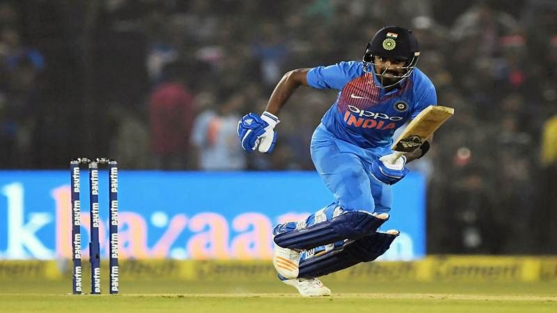 Asia Cup 2018 India vs Afghanistan: KL Rahul bowled out MS Dhoni; fans chide Rahul for wasting DRS review