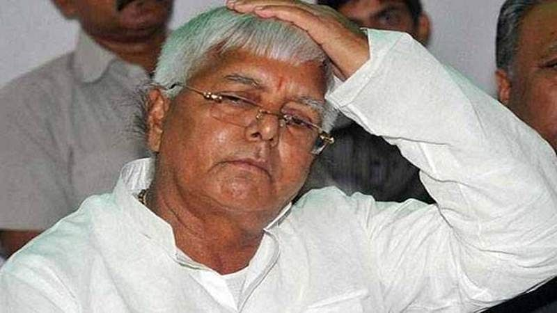 Fodder scam Lalu gets 3 years, 6 months in jail