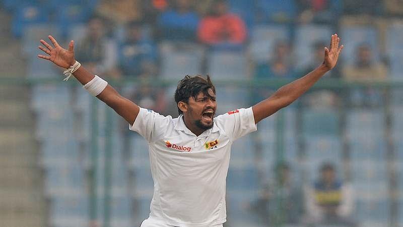 India vs Sri Lanka Delhi Test: SL's Suranga Lakmal leaves field sick on Day 4