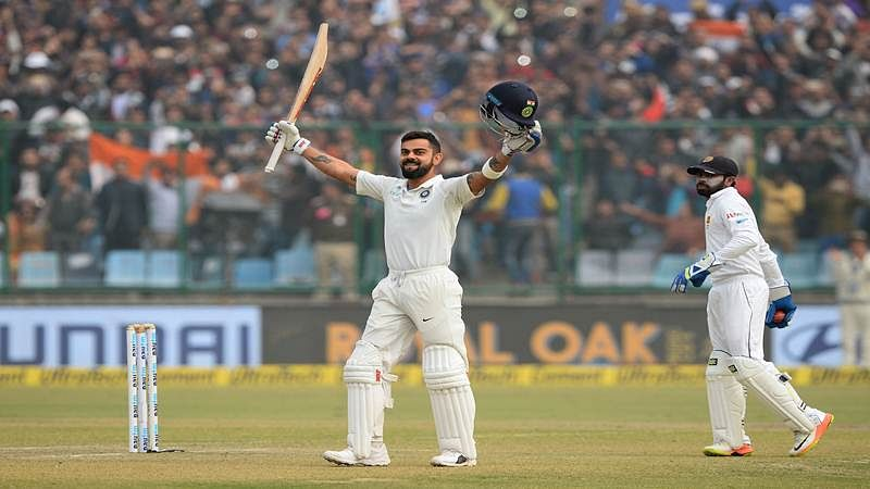 Is Virat Kohli going through a purple patch or competing with himself?