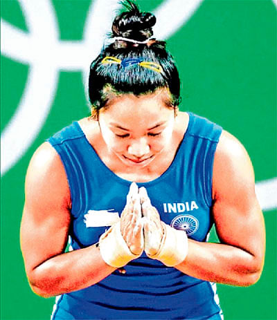 Mirabai wins historic gold in weightlifting
