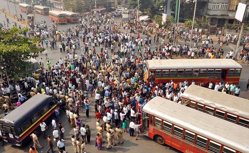 Maharashtra Bandh: Rekindling caste fires for partisan ends