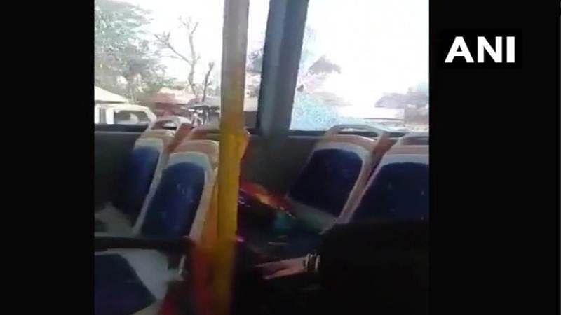 Padmaavat Violence: Mob attacks school bus in Gurugram, Twitter calls them terrorists