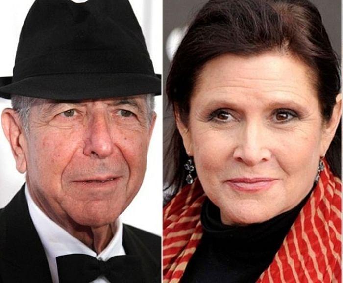 Grammy Awards 2018: Carrie Fisher, Leonard Cohen win posthumous Grammys