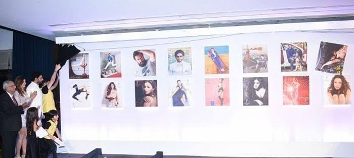 Dabboo Ratnani Calendar 2018 launch: Amitabh Bachchan skips event, Rekha, Sunny leone, Abhishek Bachchan among others attend the launch