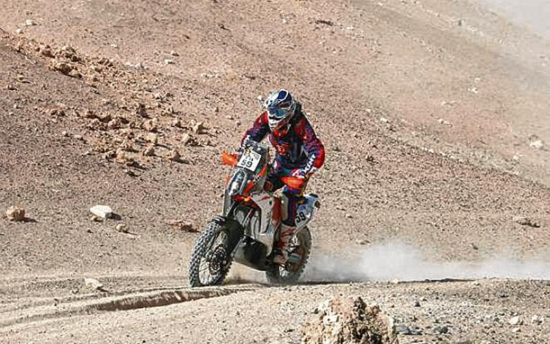 Hero Team's Mena 18th, Santosh 42nd after Stage 8 of Dakar Rally