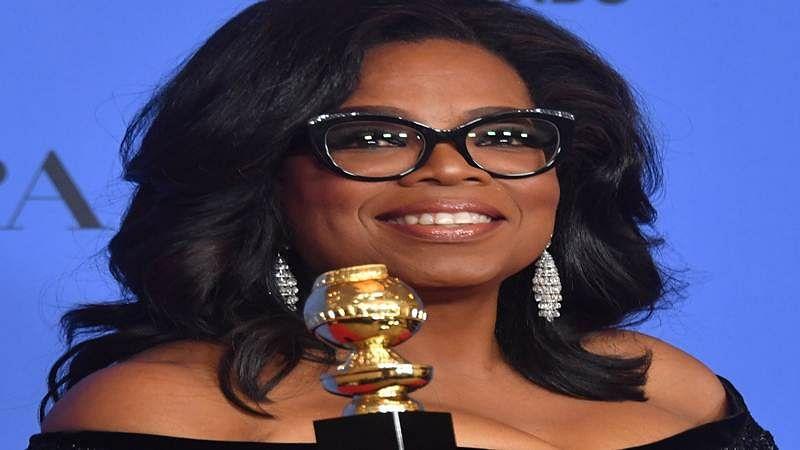 Oprah Winfrey makes rousing speech at Golden Globes 2018