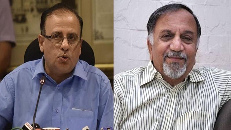 Mumbai: BMC Chief Ajoy Mehta and Ex-CIC Shailesh Gandhi get into war of words
