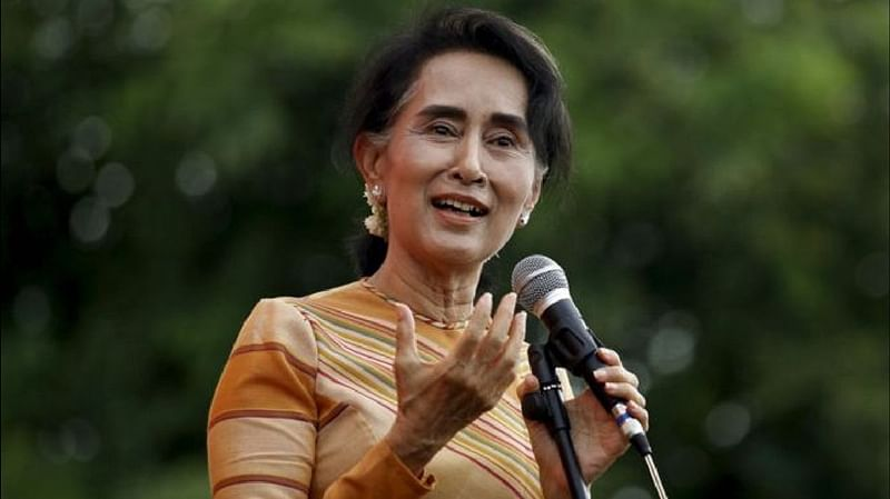 Myanmar leader Aung San Suu Kyi stripped of human rights award