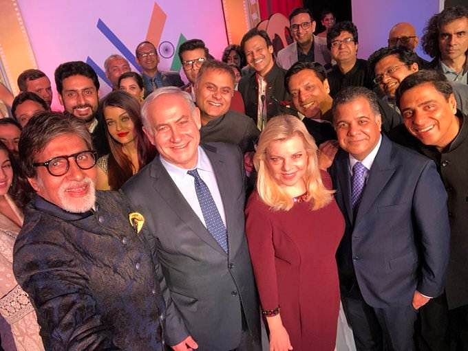 Israel PM Benjamin Netanyahu all praise for Bollywood and Hindi cinema