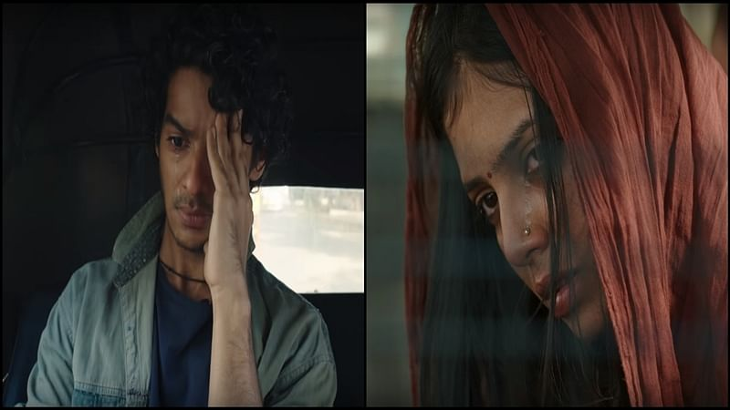 Beyond The Clouds Trailer: IshaanKhatter'sintense act, Malavika Mohanan's expressive eyes show nuances of human relationships
