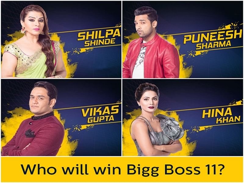 Bigg Boss 11! Who will be the winner? A reality check
