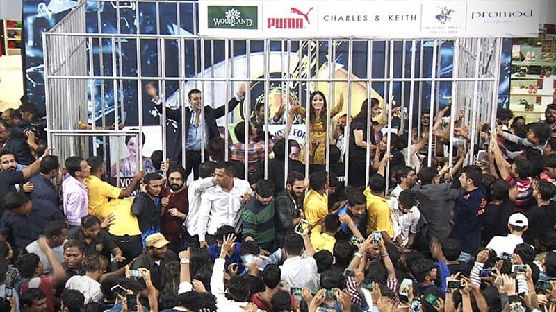 Bigg Boss 11: Shilpa, Hina, Vikas and Luv visit mall to meet their fans; Day 96 developments