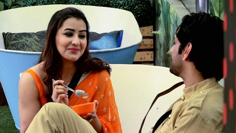 Bigg Boss 11: Vikas Gupta calls Shilpa Shinde pretty after seeing her in orange saree; Day 102 masala