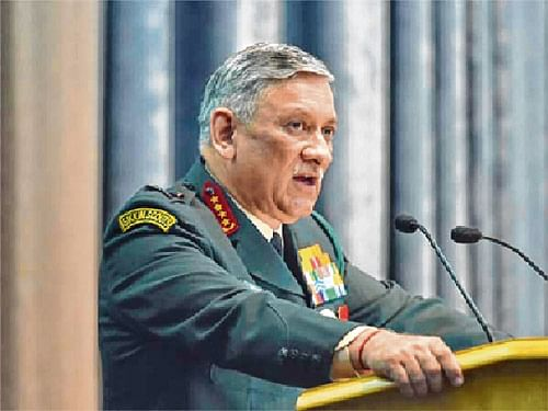 Transgression incident in Arunachal resolved, says  Army Chief Rawat