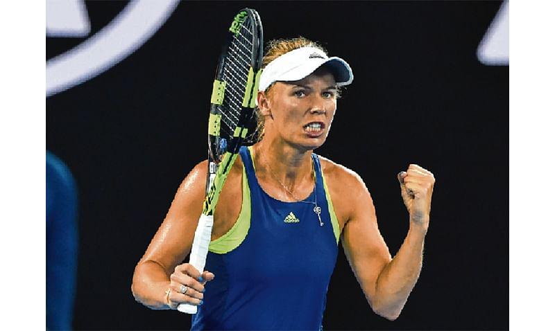 Wozniacki cruises into Open last 16