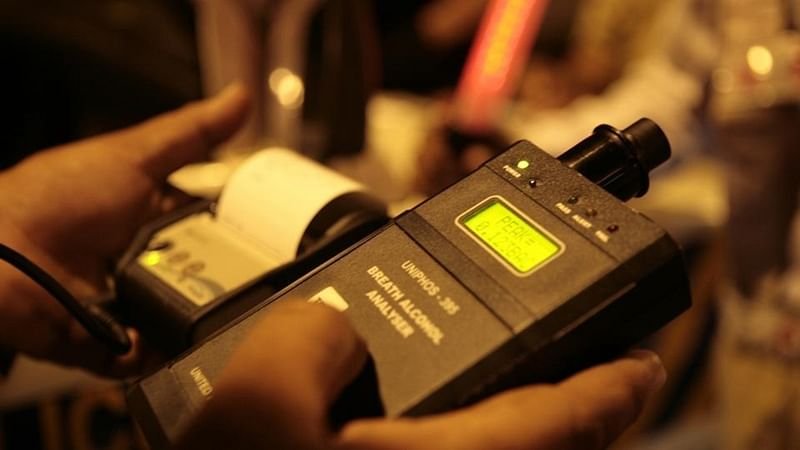 55% rise in drunk driving cases on New Year eve, 778 motorists booked