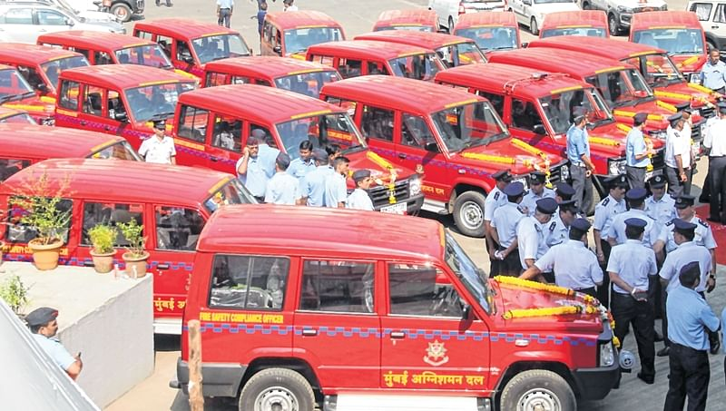 Mumbai: Fire brigade department gets 28 jeeps to conduct regular inspection drives