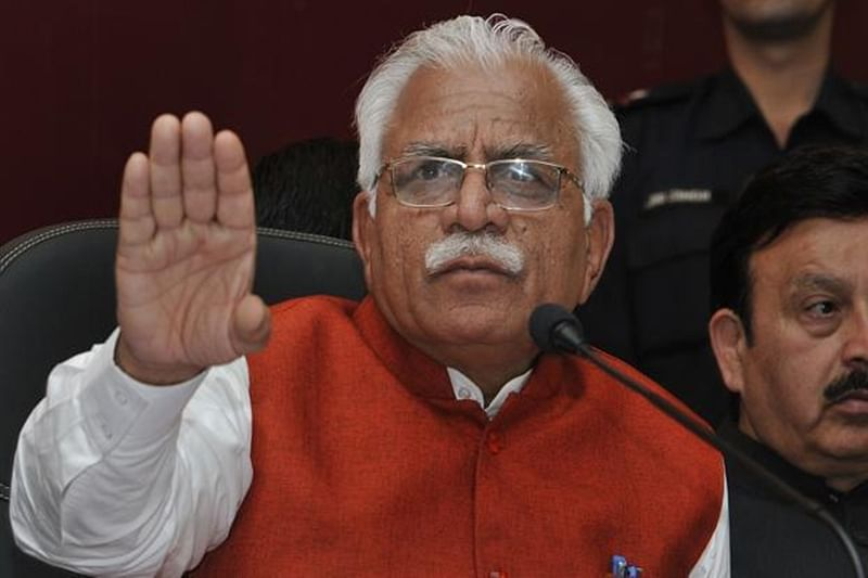 Fingers pointed at women will be chopped off, says Haryana CM Manohar Lal Khattar