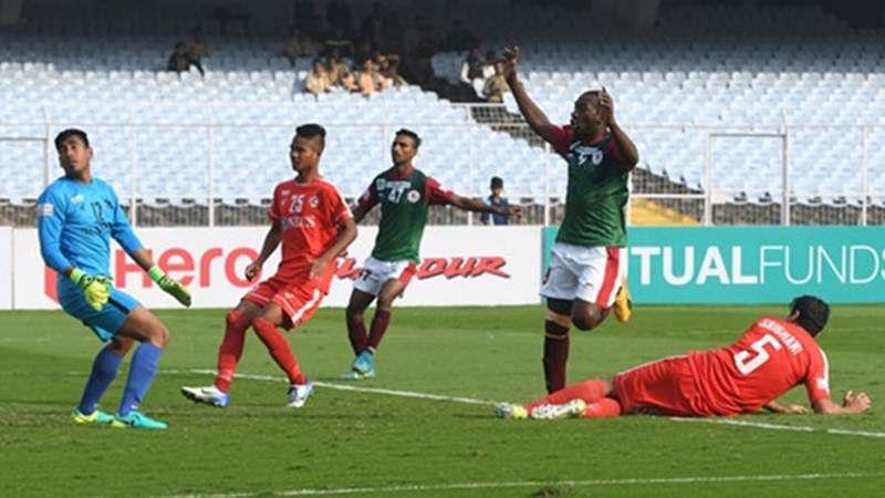 I-League 2017-18: Mohun Bagan hold Aizawl FC tie
