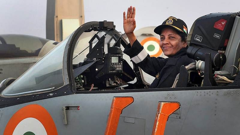 Defence Minister Nirmala Sitharaman soars in Sukhoi, watch video