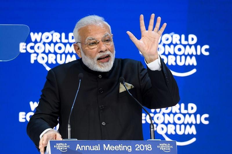 India is on course to become USD 5 trillion economy by 2025: PM Narendra Modi tells World Economic Forum