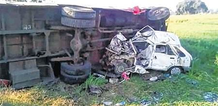 Ujjain: One killed, another injured after vehicles collide