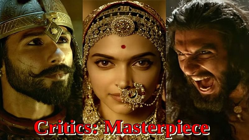 Padmaavat critic reviews: Film experts term Sanjay Leela Bhansali's film a 'MASTERPIECE'; see tweets