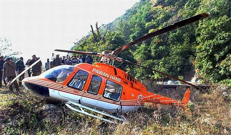 Mumbai: Crashed Pawan Hans chopper VDR found, six bodies recovered, search on for missing person