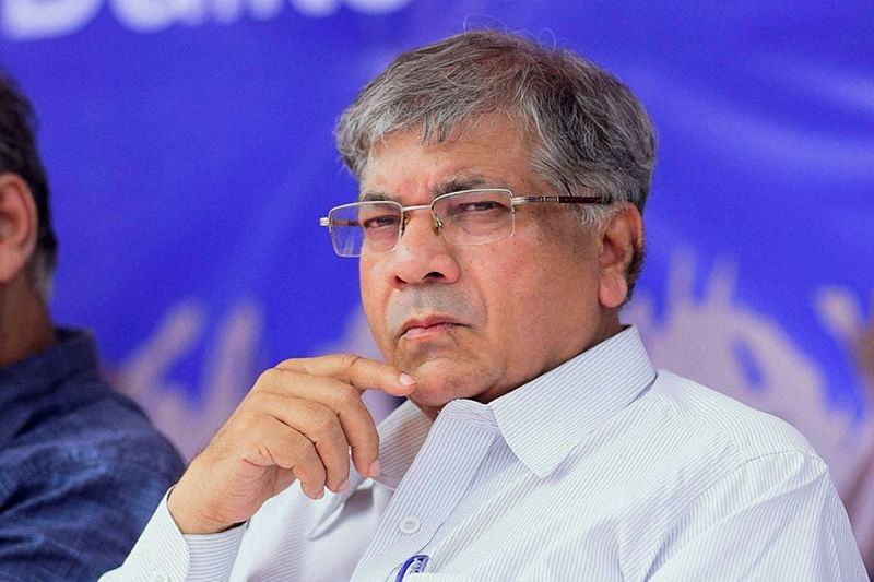 Mumbai: Prakash Ambedkar appeals to party workers to trash out trolls against him