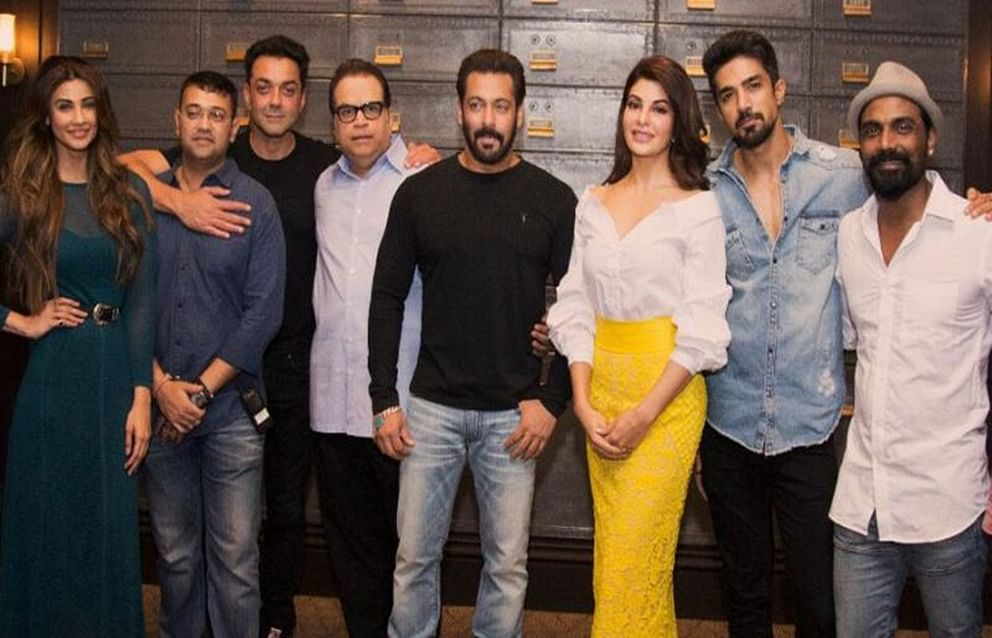 Mumbai schedule for 'Race 3' stars Salman Khan and Jacqueline Fernandez wrapped up