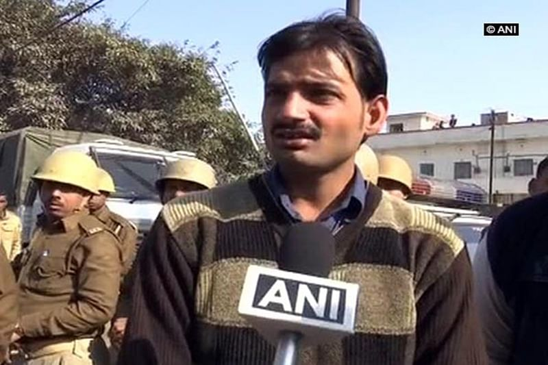 I was not present in Kasganj during riots: Rahul Upadhyay