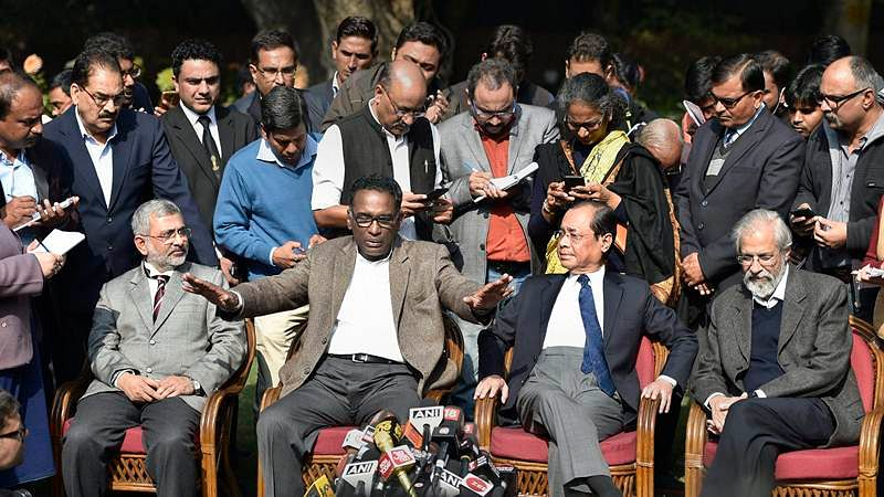 Supreme Court Judges Press Conference: Souls are saved but judiciary in tatters