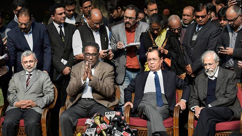 Supreme Court crisis: CJI Dipak Misra meets four senior-most judges