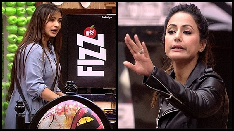 Cat fight between Shilpa Shinde and Hina Khan takes dirty turn, fan threatens to release Hina's MMS