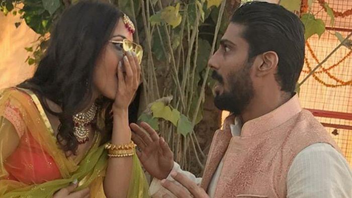 Prateik  Babbar, Sanya Sagar to call it quits after a year of marriage?