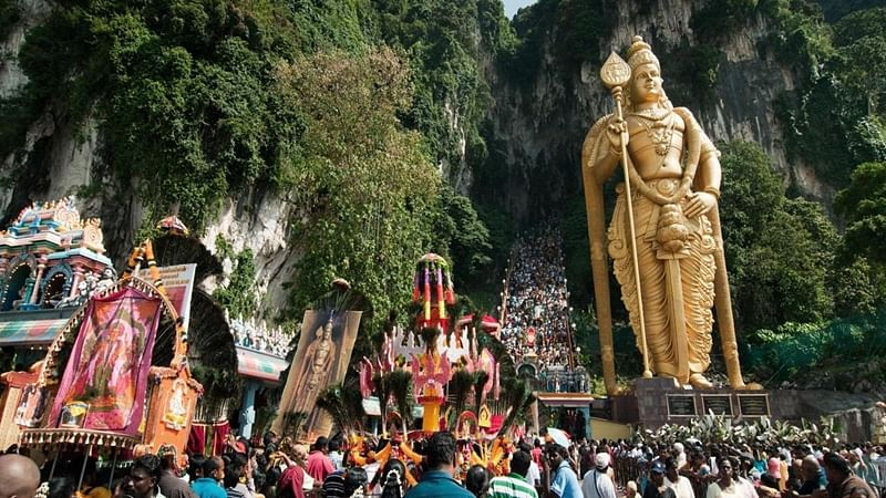 Hundreds of thousands of Hindus celebrate Thaipusam festival in Malaysia