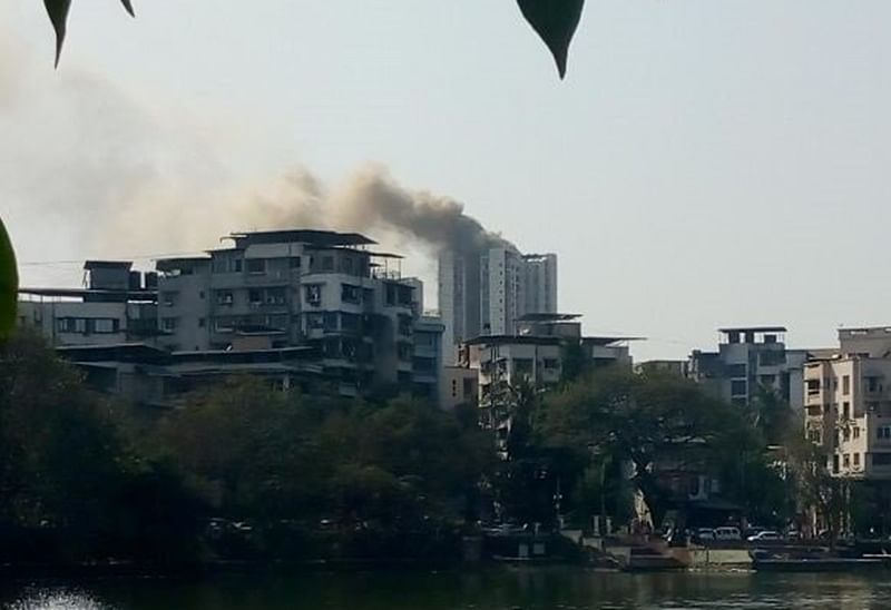 Massive fire engulfs Giriraj Heights at Thane, 153 rescued; no casualties