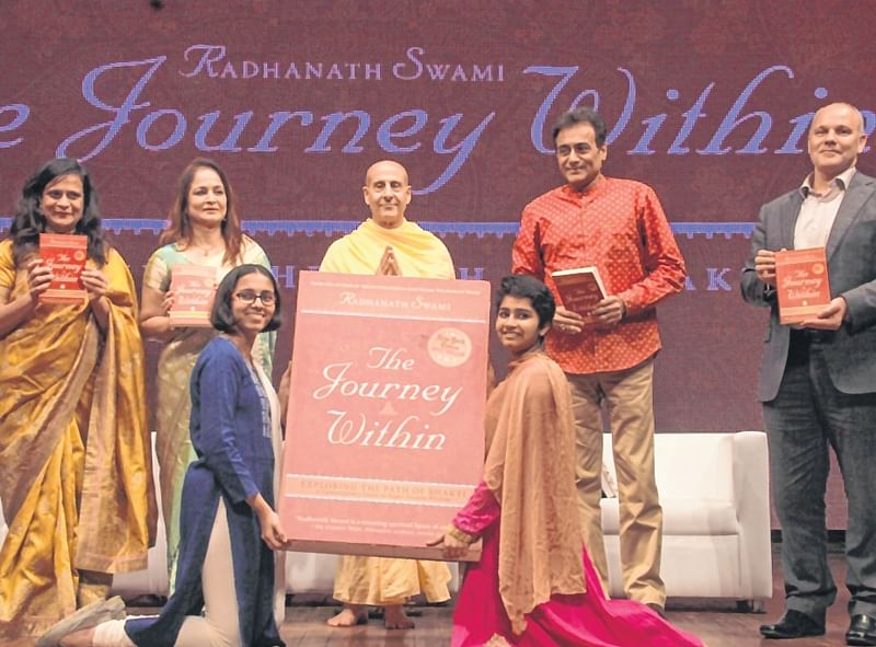 The Journey Within: Radhanath Swami shares experiences which would enlighten the readers with spiritual thoughts