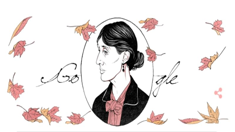 Google Doodle marks Virgina Woolf's birthday